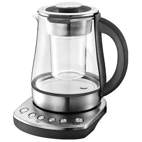 Digital Kettle 1.5L Health-Care Electric Kettle Multi-Use Glass Kettle for Dessert, Tea, Soup and Medicinal Diet